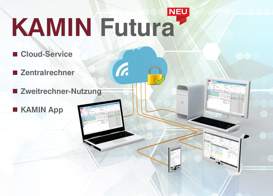 Schornsteinfegersoftware Kamin - Die Software zur Verwaltung des Kehrbezirks