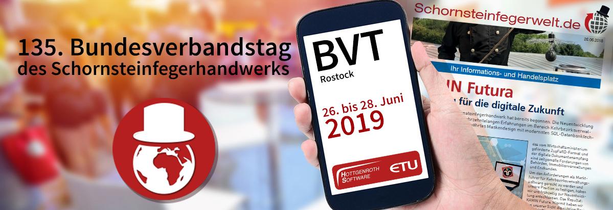 Bundesverbandstag der Schornsteinfeger - BVT 2019