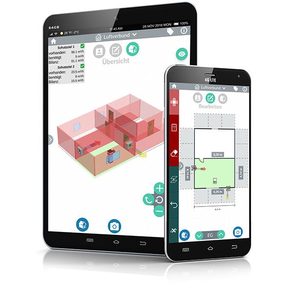 Neue Anwendung: Luftverbund Software